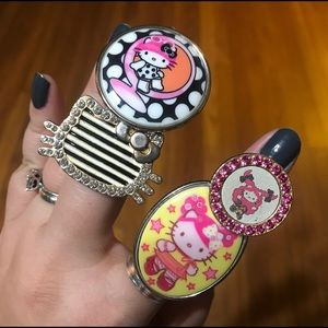 Hello Kitty x Tarina Tarantino rings